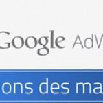 Google Adwords actu
