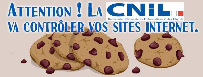 Attention ! La CNIL va contrôler vos sites internet.